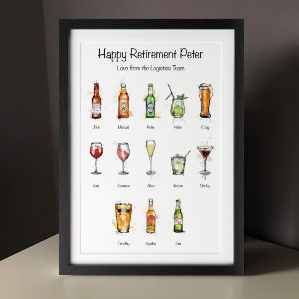 Drinks Prints up to 15 people
