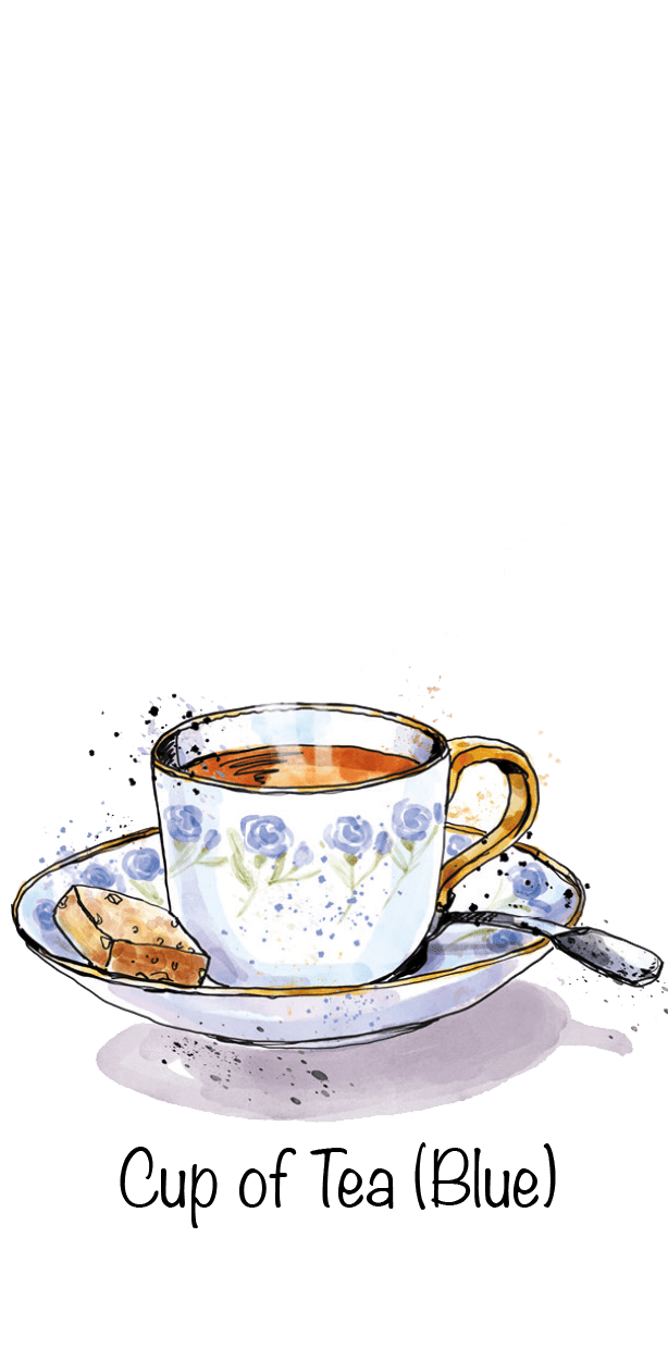 Cup of Tea (Blue)