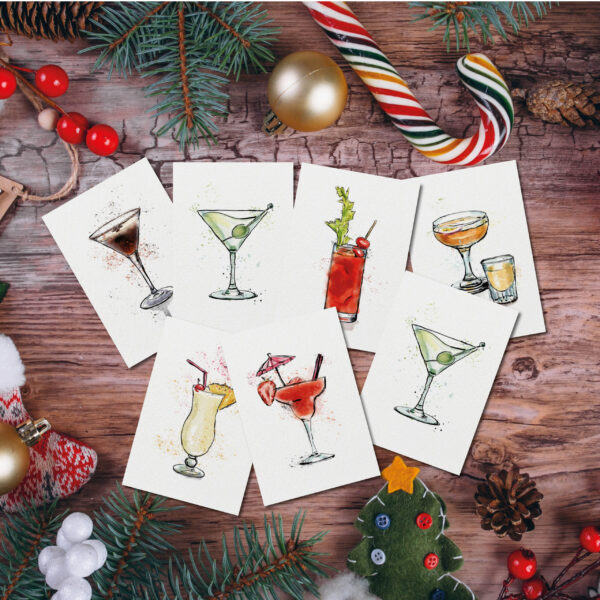 Cocktail Postcards