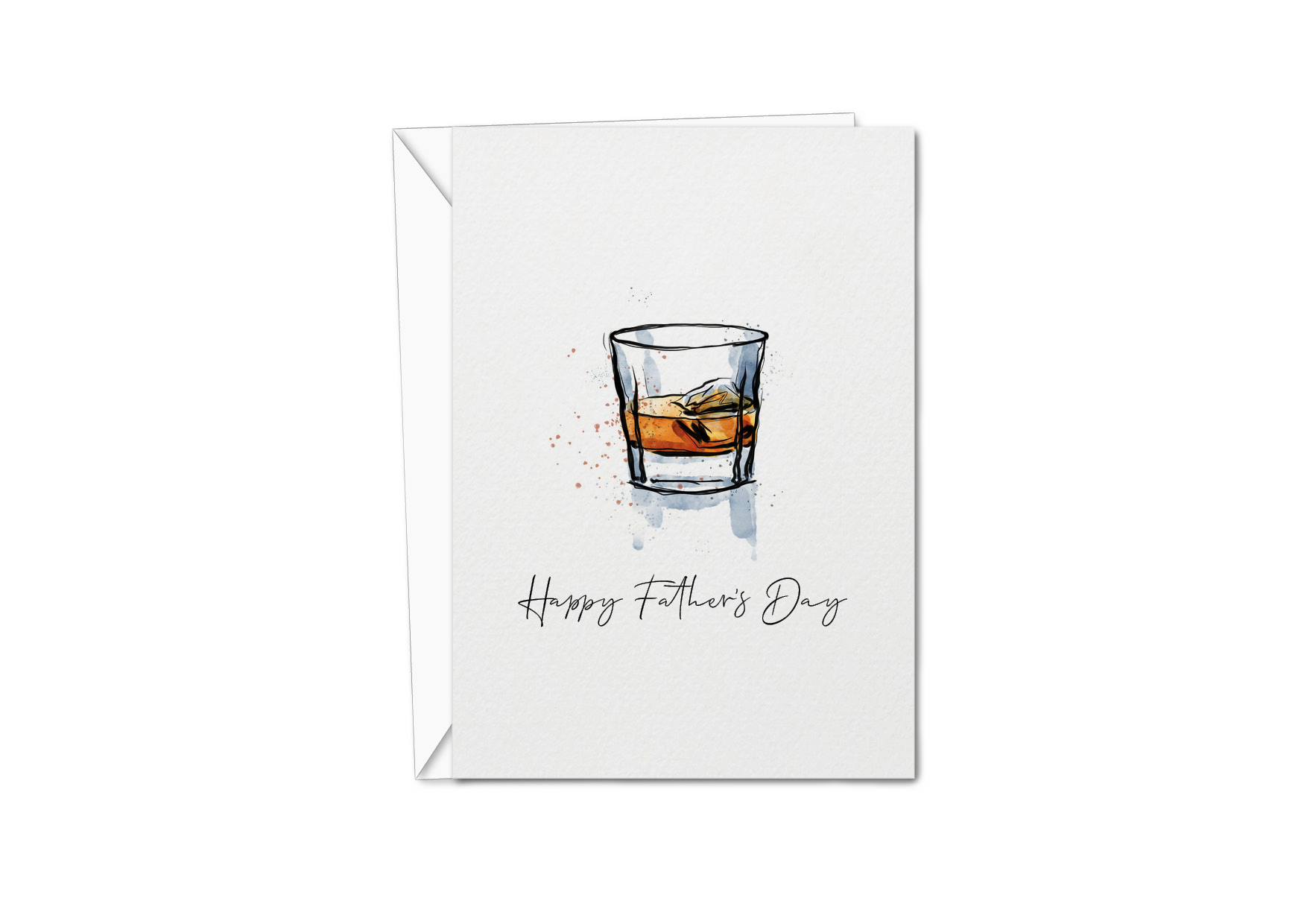 Father's Day Card - Whiskey