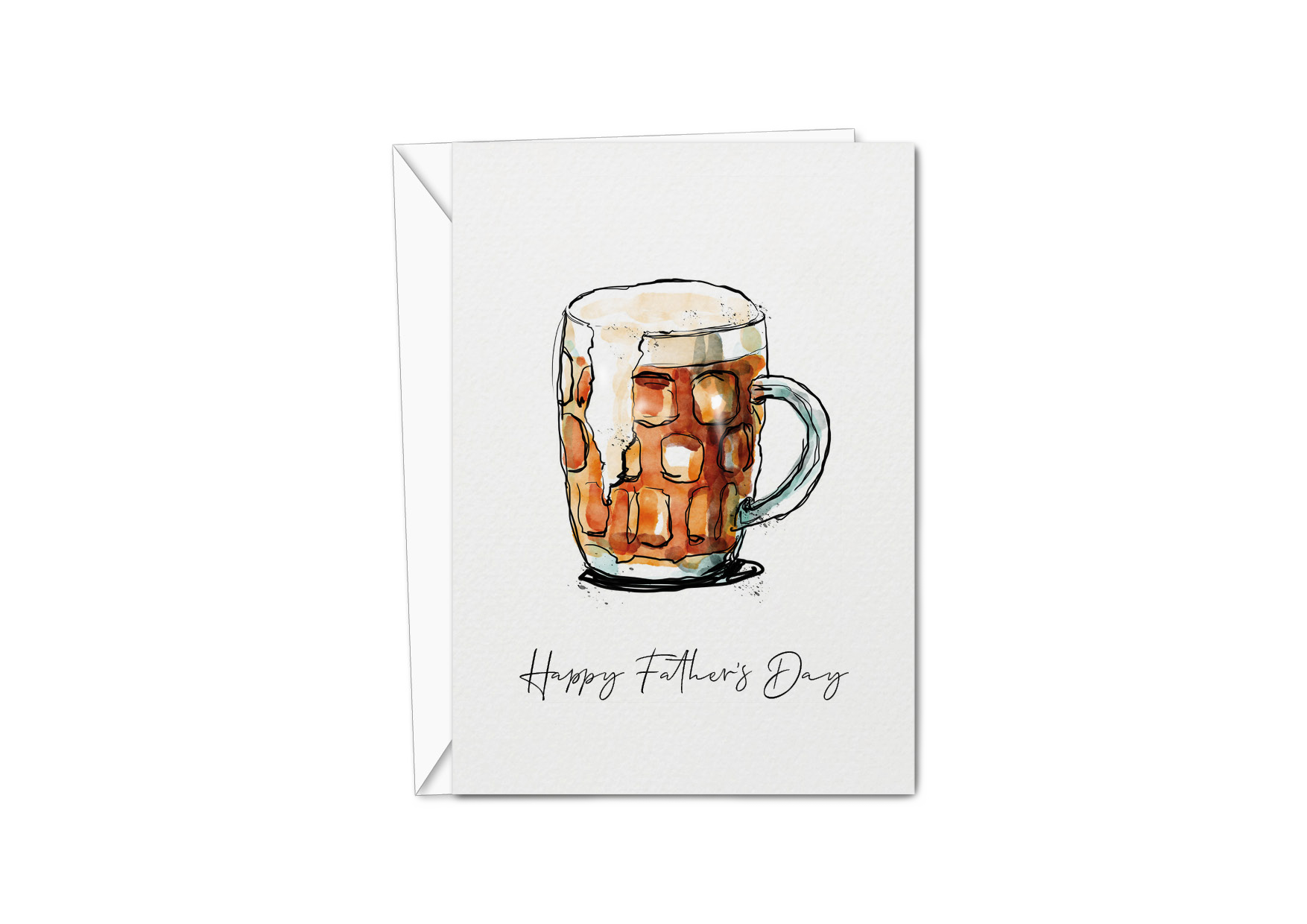 Father's Day Card - Bitter